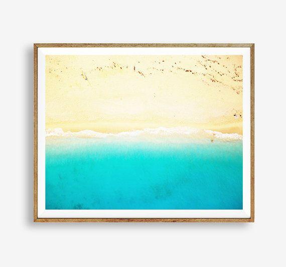 Beach print Beach art Summer Nature Modern art by WallArt2Decor