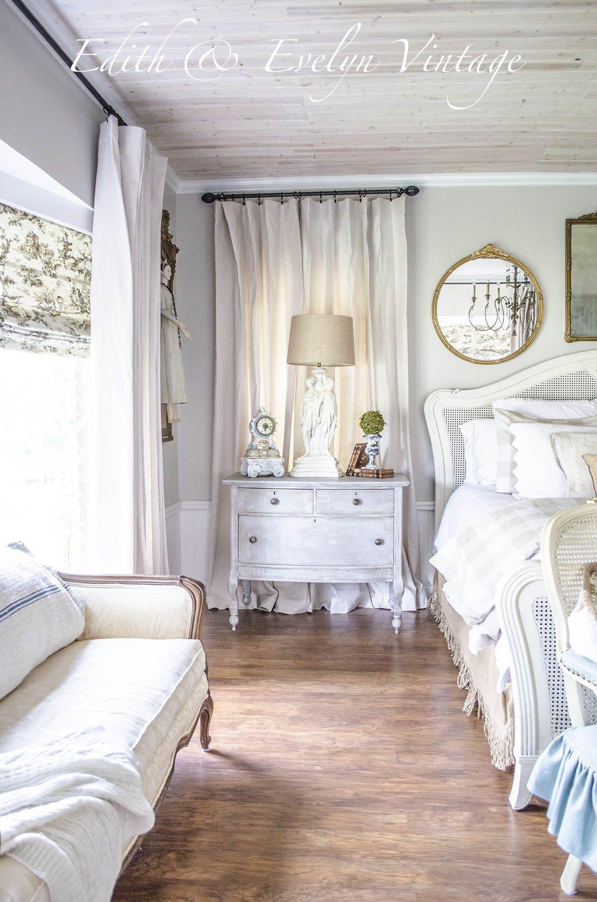 Vintage master bedroom decor  Transformation  Bedroom decor  Pinterest  Bedroom Master Bedroom