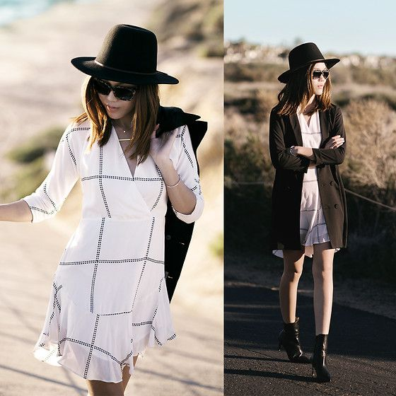 Get this look: http://lb.nu/look/7031772  More looks by Jenny Tsang: http://lb.nu/tsangtastic  Items in this look:  Tuxedo Dress, Plaid Dress   #artistic #chic #edgy