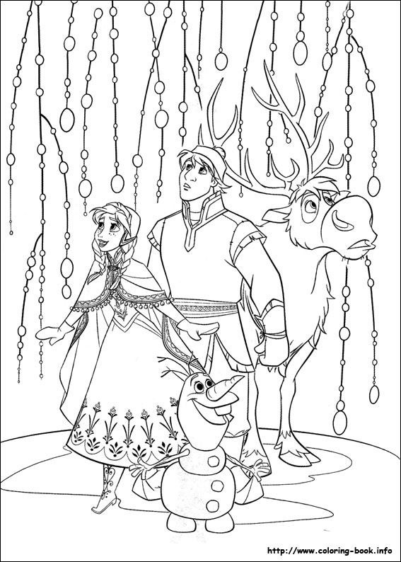 doar coloring pages Disney Frozen coloring picture | Christmas | Frozen coloring pages  doar coloring pages