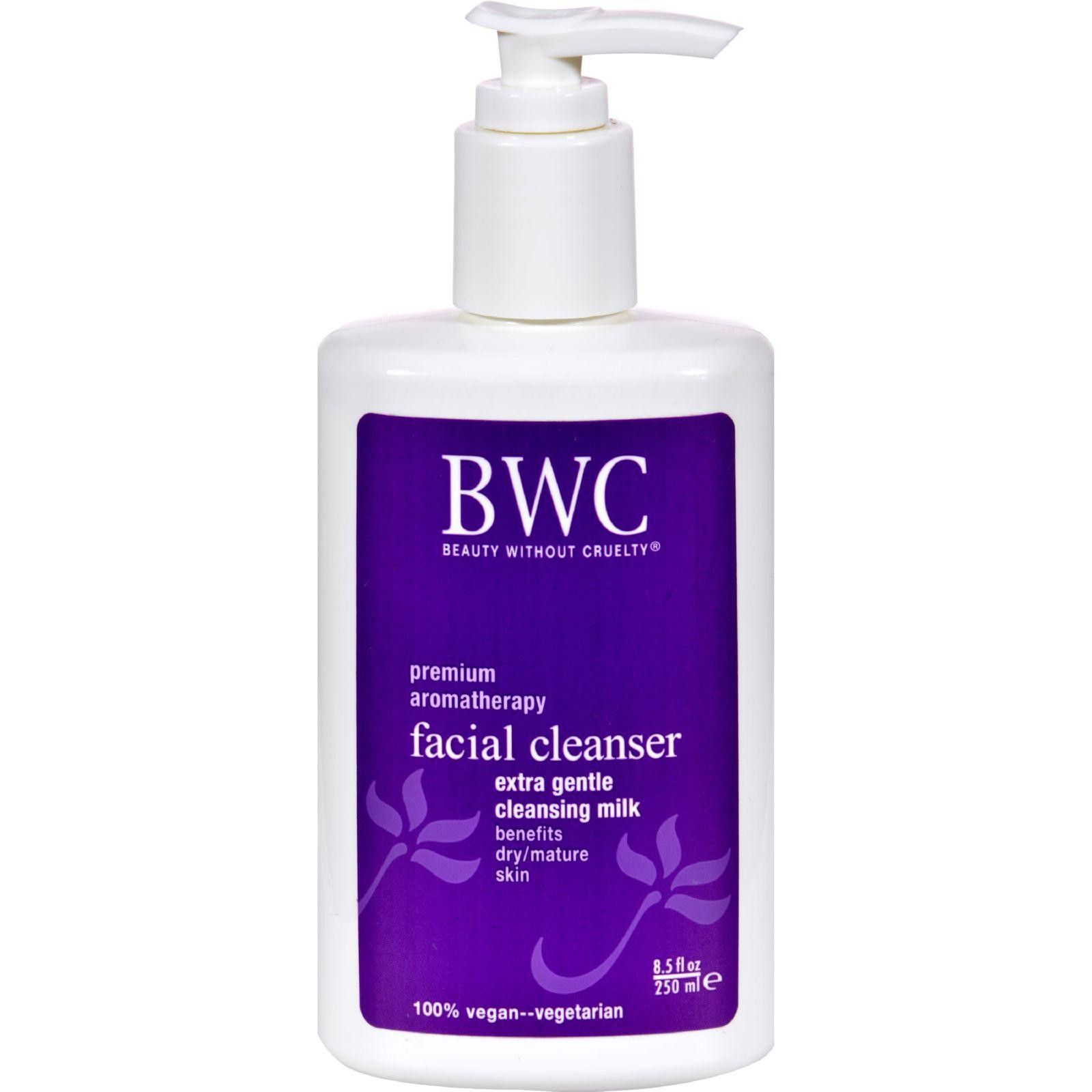 Facial Cleanser-Herbal Cream Beauty Without Cruelty 8.5 oz Cream Face Up Roller Cellulose