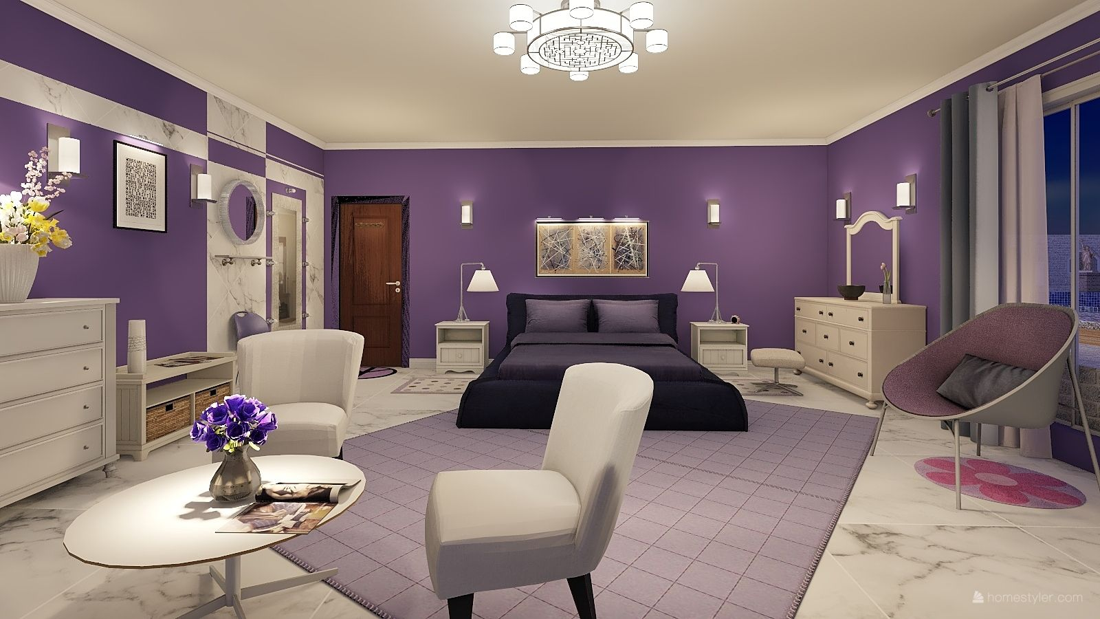 Bedroom Design By Alain Groetzinger Bedroom Design Room Design Software Home Design Software 3d Home Design Software Bedroom design online 3d