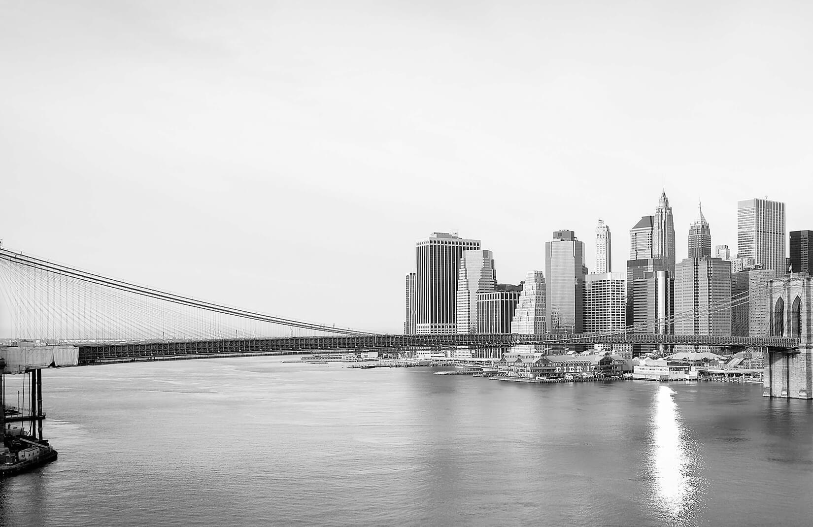 Black And White New York Skyline Wallpaper Muralswallpaper New York Landscape White City London Black And White Landscape