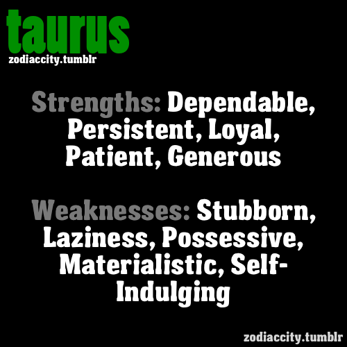 The Best Zodiac Facts On The Web   Taurus, Strength and