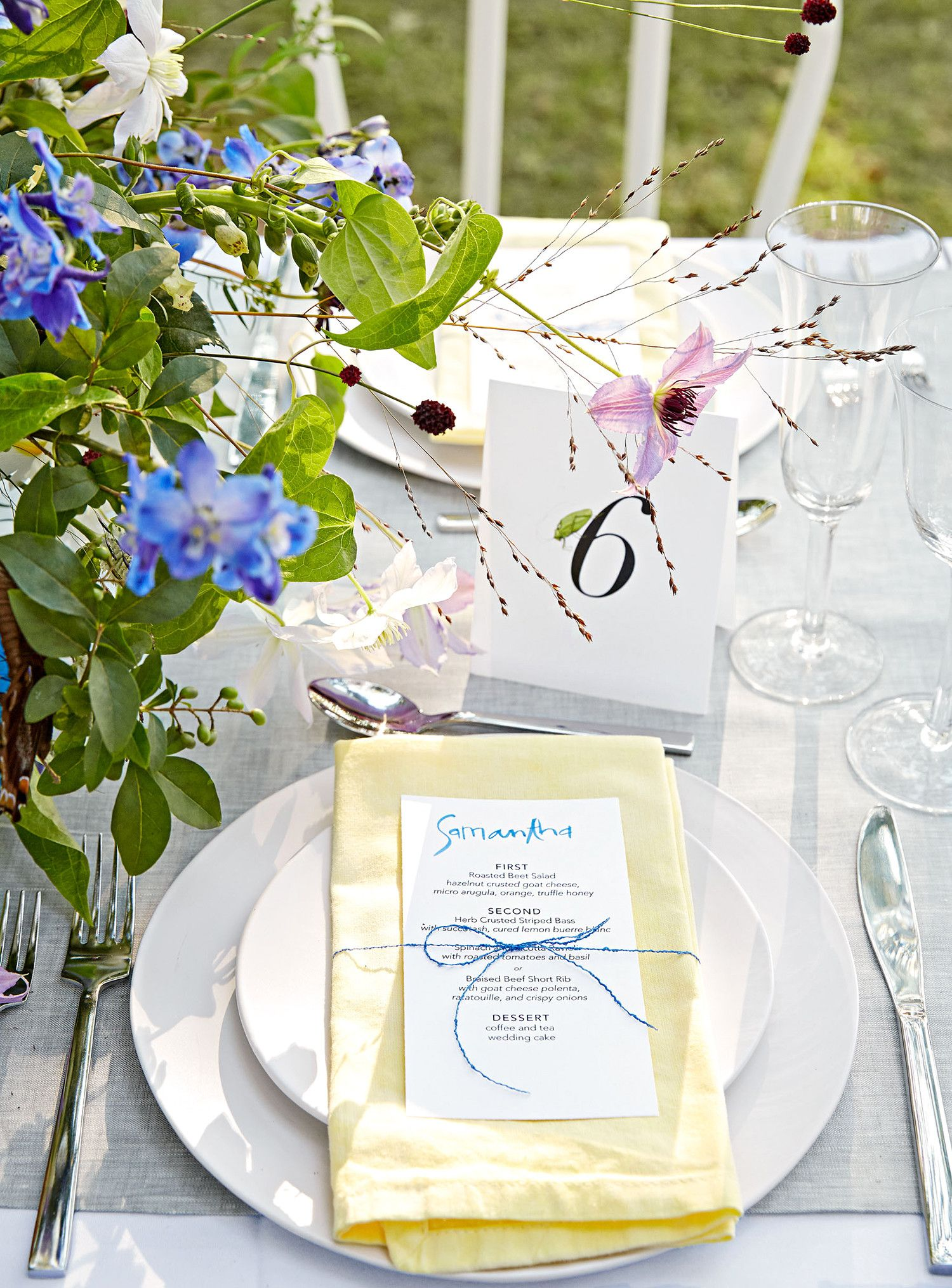 The Prettiest Wedding Table Number Ideas from Real Weddings | Table ...