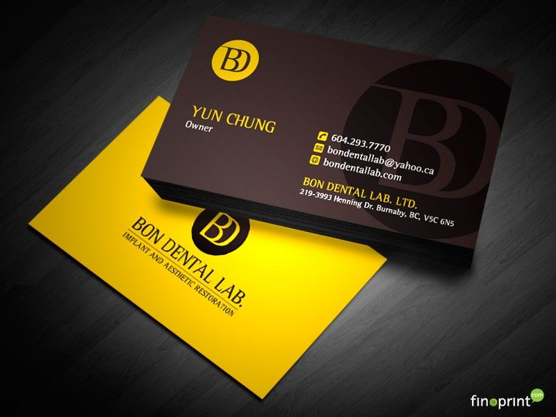dental laboratory business cards - Αναζήτηση Google | logo ...