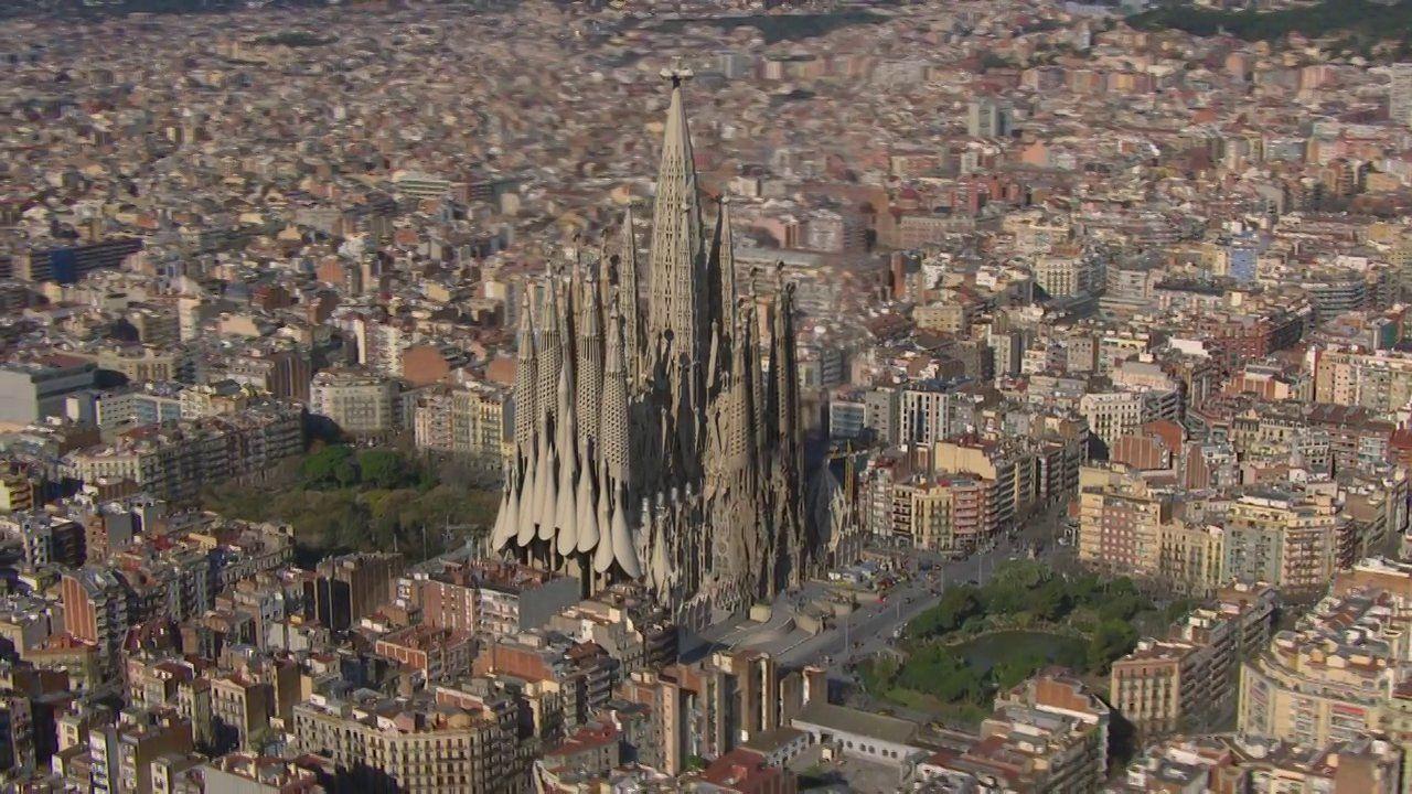 [VIDEO] SAGRADA FAMILIA - Increíble animación #España #Spain #Barcelona #Gaudi