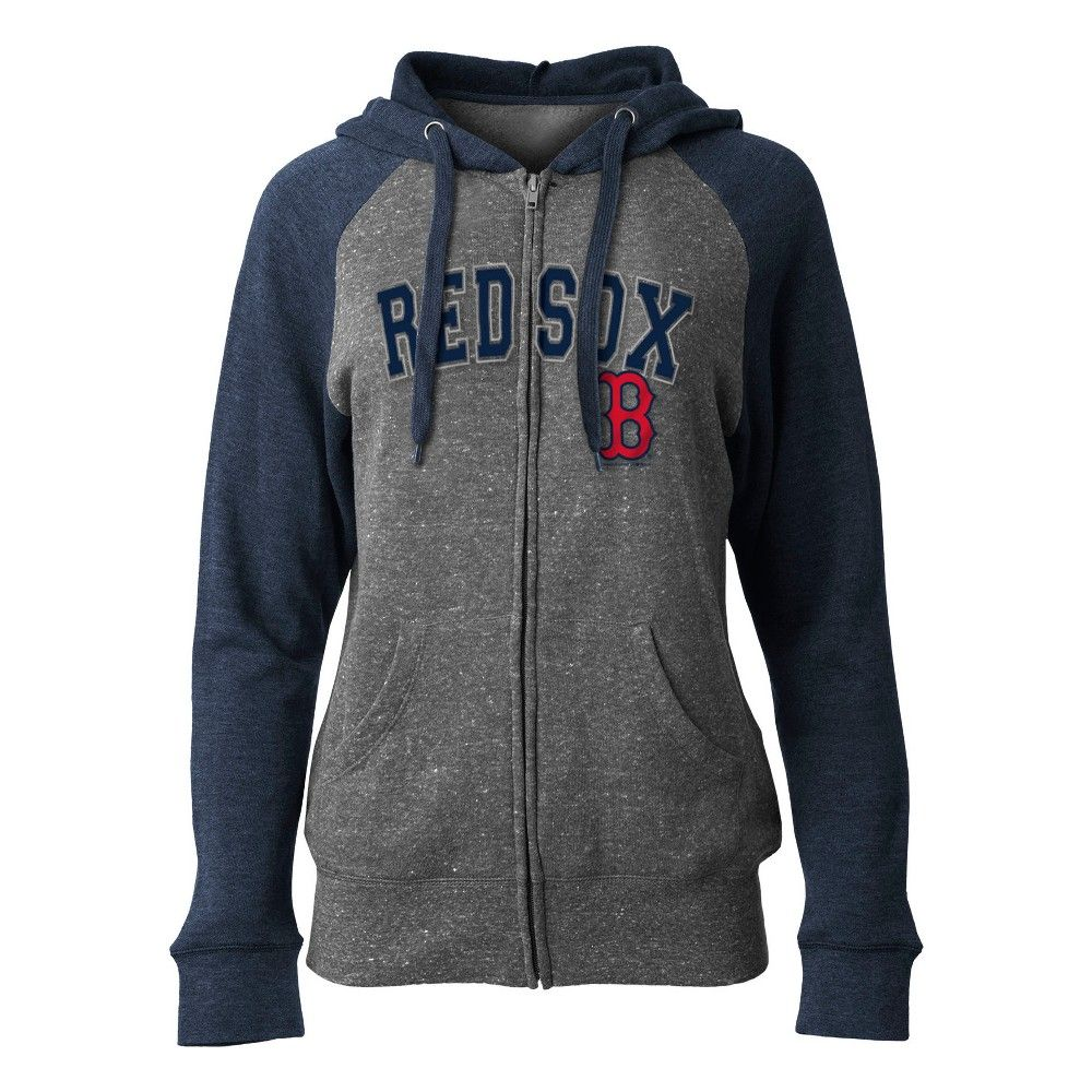 Boston Red Sox Women S On Deck Full Zip Hoodie M Full Zip Hoodie Hoodies Zip Hoodie