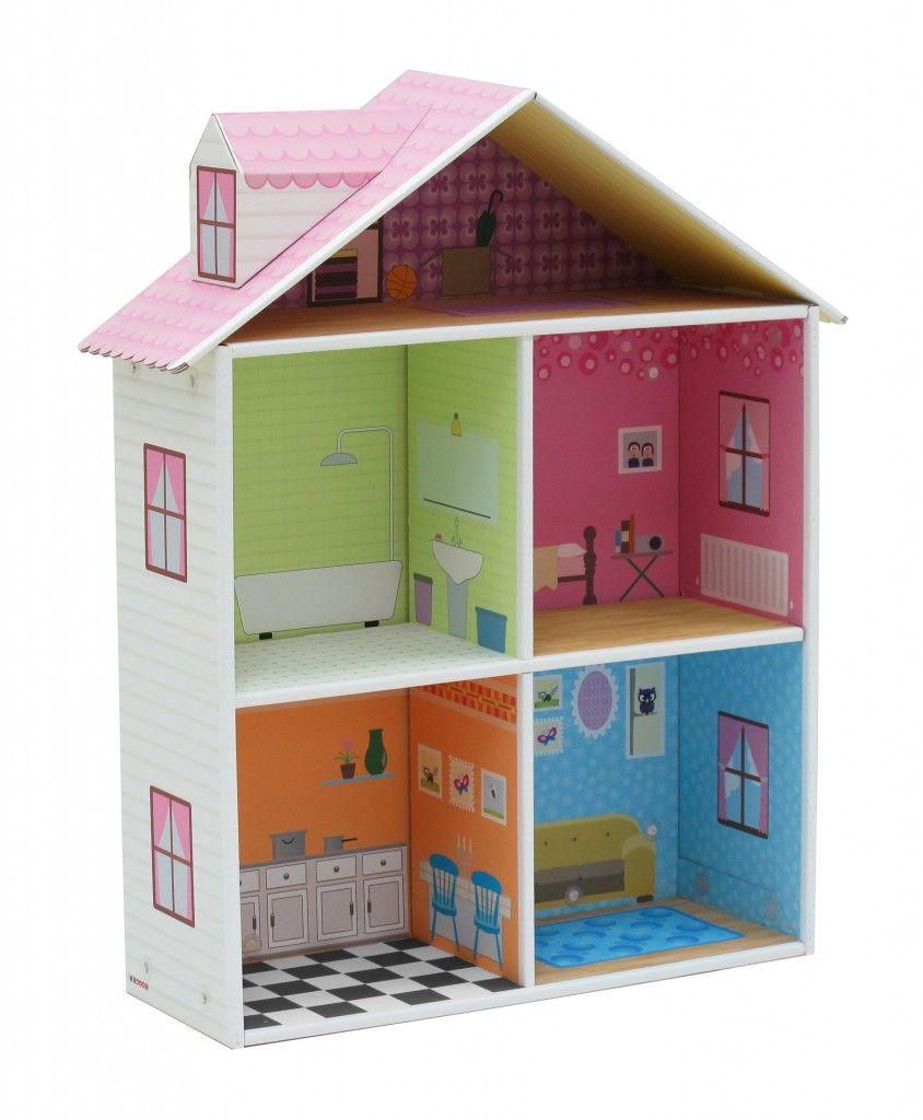 casa de muñecas de cartón Melrose b | con papel o cartón | Pinterest ...