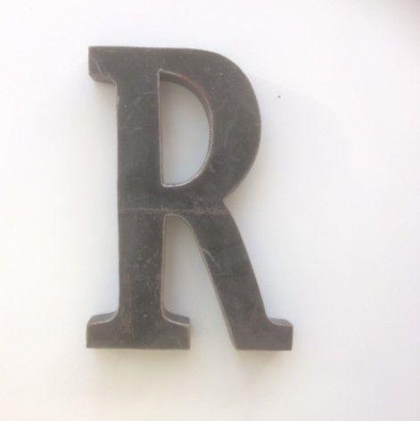 Large Metal Letter R Large Vintage Metal Letter R Rumours That These Huge Vintage