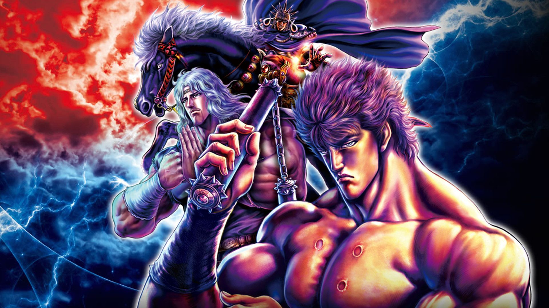 Fist Of The North Star Kenshiro Toki Raoh Hokuto Martial