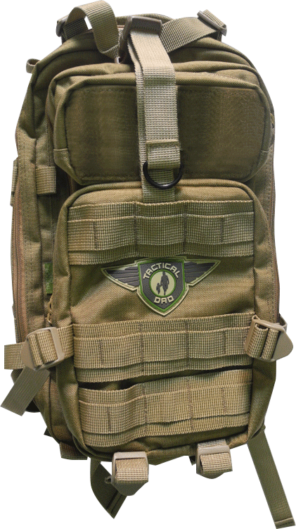 D O Dad On Diaper Duty Pack Bag Tactical