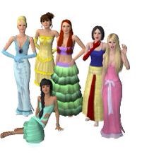 Someone made them in Sims 3