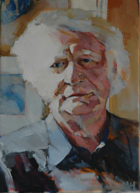 portrait of Robert Bly iv. by Mark Horst, via Flickr