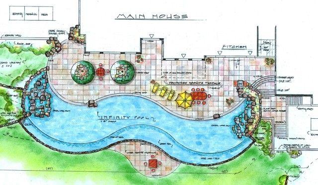 Landscape Architecture Drawings Design Decorating 1018019 ...