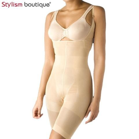 c081f88ea4fe8 Bodysuit Women Body Shaper Waist Trainer Slimming Underwear Shapewear Butt  Lifter Corsets Tummy Control Adjustable Belt