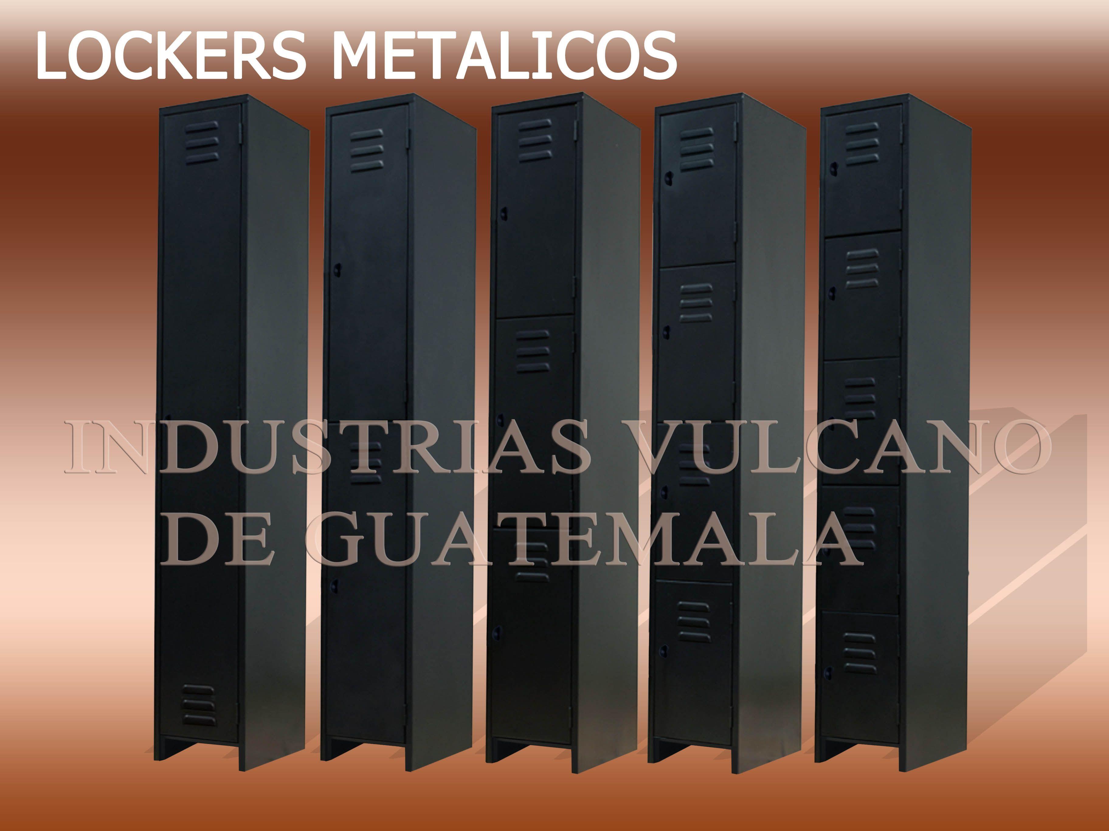 Lockers Baratos Lockers En Guatemala Casilleros Metalicos  # Muebles Vulcano
