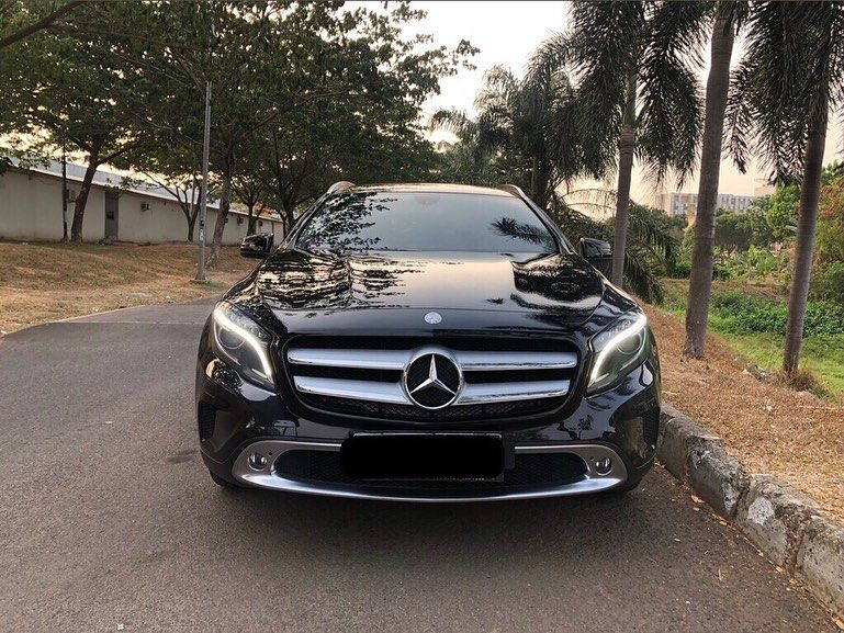 Mercedes Gla 200 Urban 2014 Sold Odo 25rb Pajak 3 2020 Black On