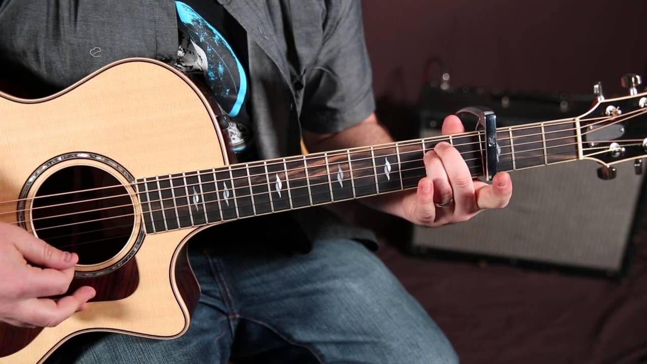 Shawn Mendes Never Be Alone Guitar Lesson How To Play Chords