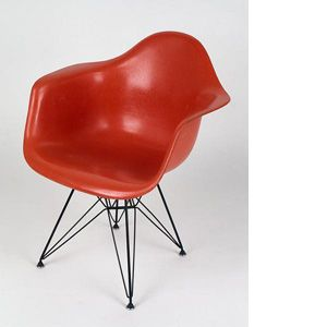 charles et ray eames fauteuil plastic armchair dar. Black Bedroom Furniture Sets. Home Design Ideas