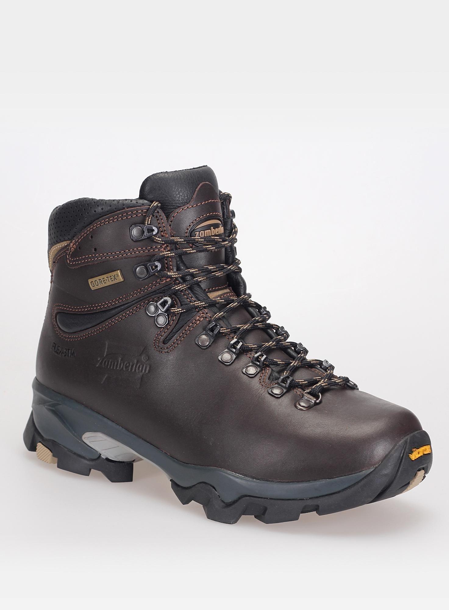 6684ebd6318 Damskie buty trekkingowe Zamberlan Vioz GT - dark brown | Zamberlan