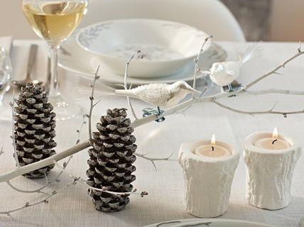 Deko aus der Natur - Tische weihnachtlich dekorieren 7 - [LIVING AT HOME]