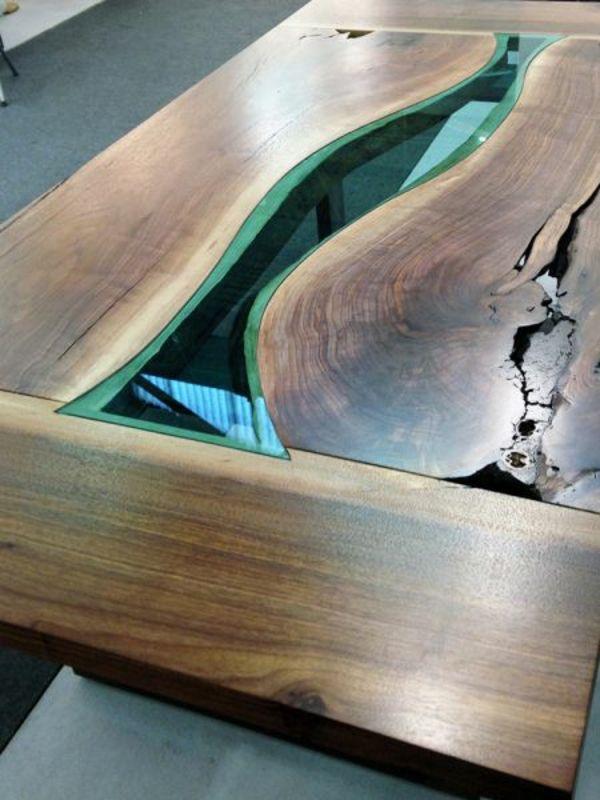 Designer Esstische von Greg Klassen entworfen  Gaming Table  Esstisch glas Esstisch holz und