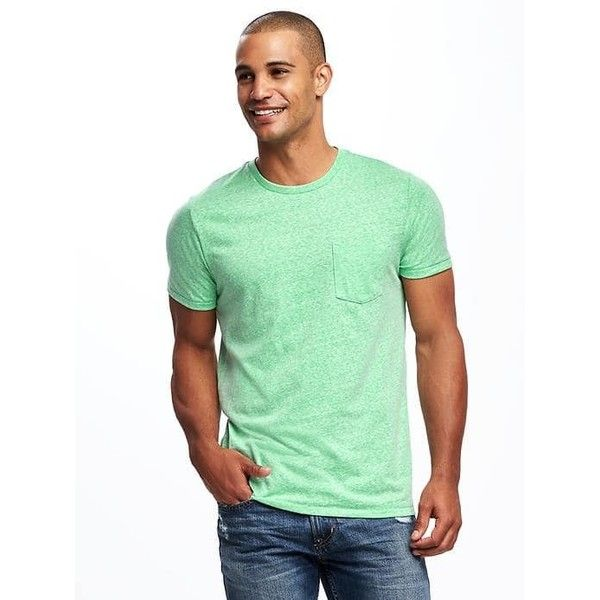 bf0b0fff0bb Old Navy Mens Crew Neck Pocket Tee ( 12) ❤ liked on Polyvore featuring men s