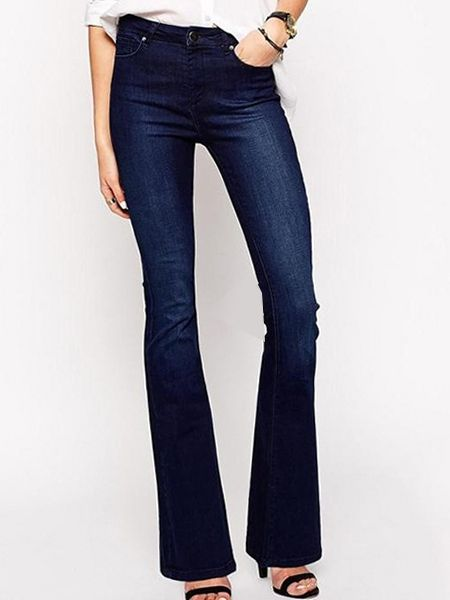 Flare Frousers Trendy Jeans