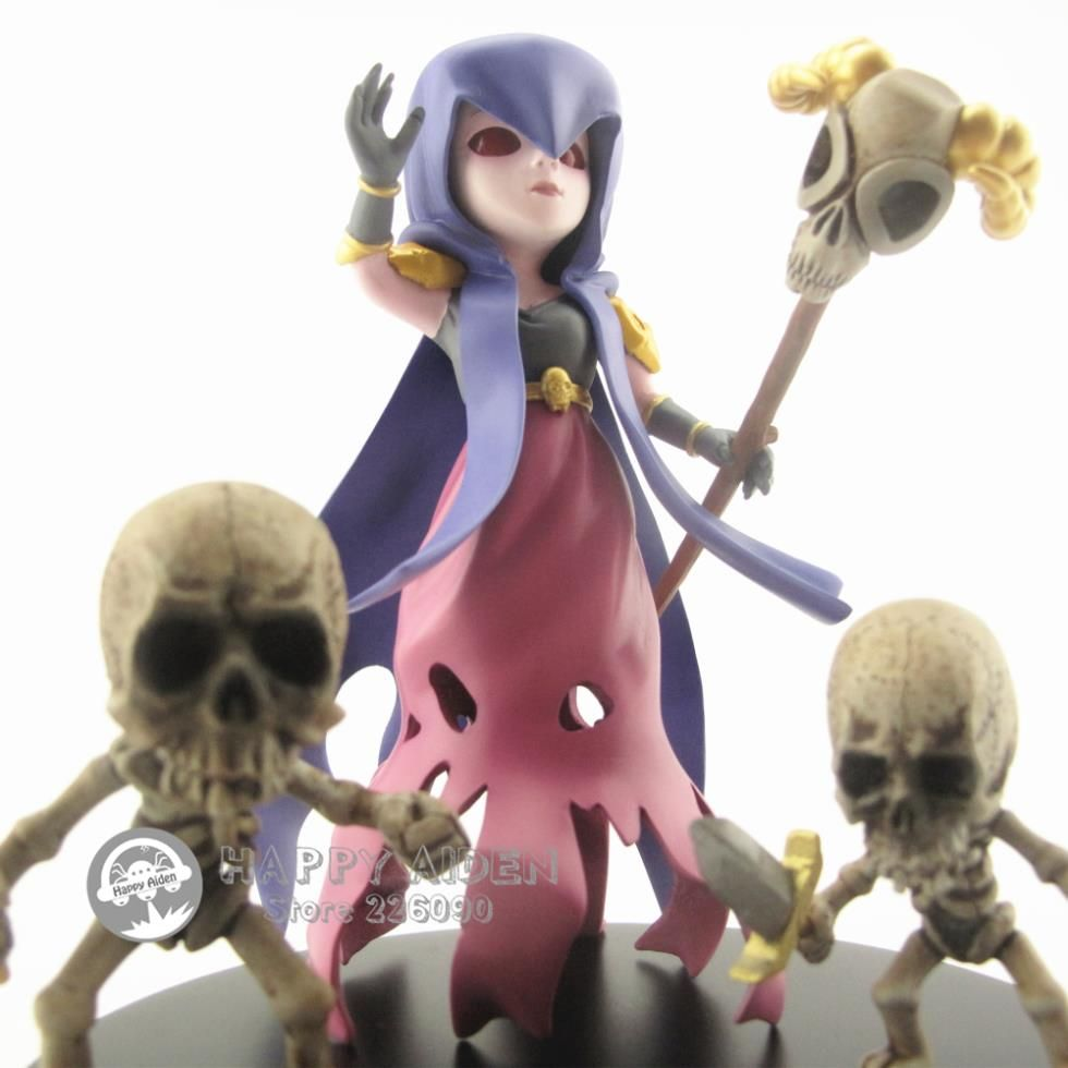 Hot COC 8pcs/set 5inches Clash of Clans action figure toys Witches ...
