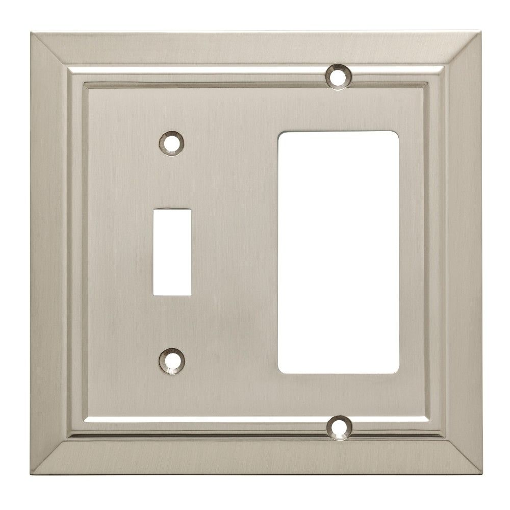 Franklin Brass Classic Architecture Switch/Decorator Wall Plate Nickel