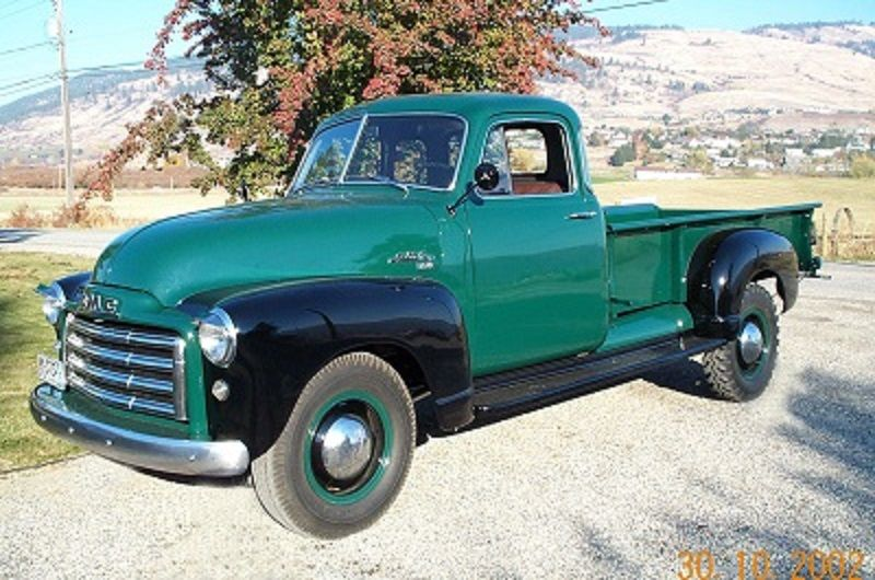 January 2016 Truck Of The Month 1953 Gmc 1 Ton Pickup Jim Carter