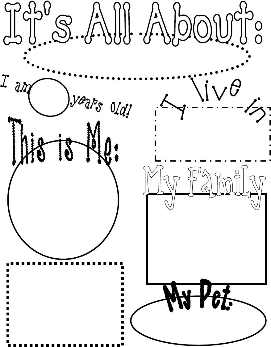 Images About All About Me Pre K On Pinterest All About Me dccffccdab All About Me Pre K