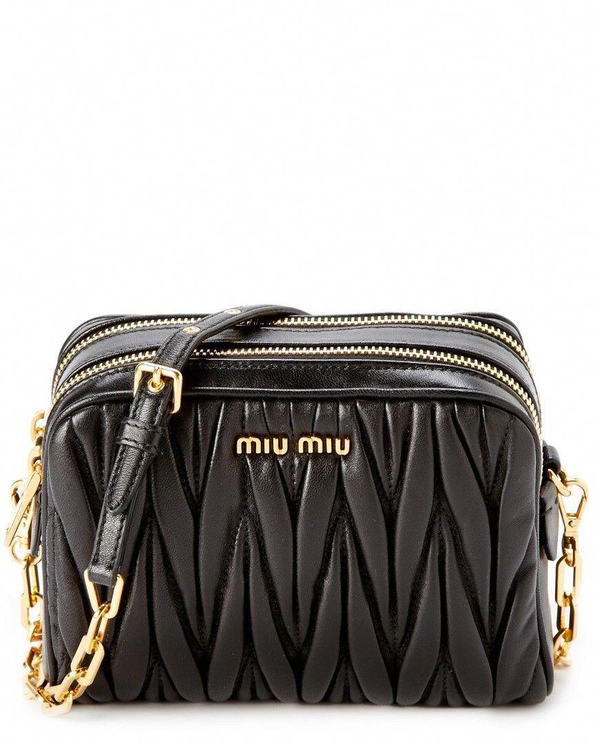 68239fb1538c miu miu and mimi  MiuMiu Leather Camera Bag