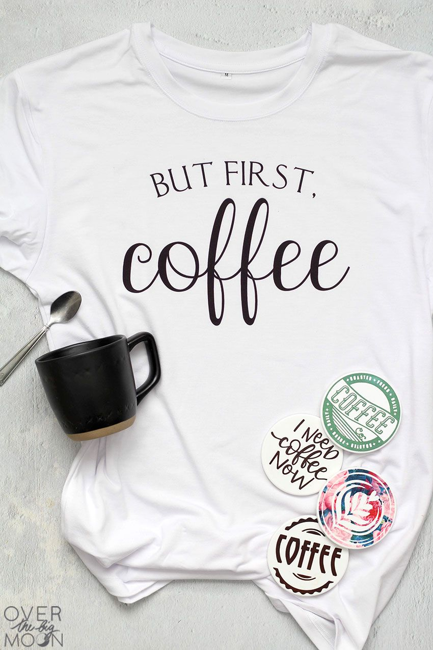 Coffee Gift Idea with Cricut Infusible Ink
