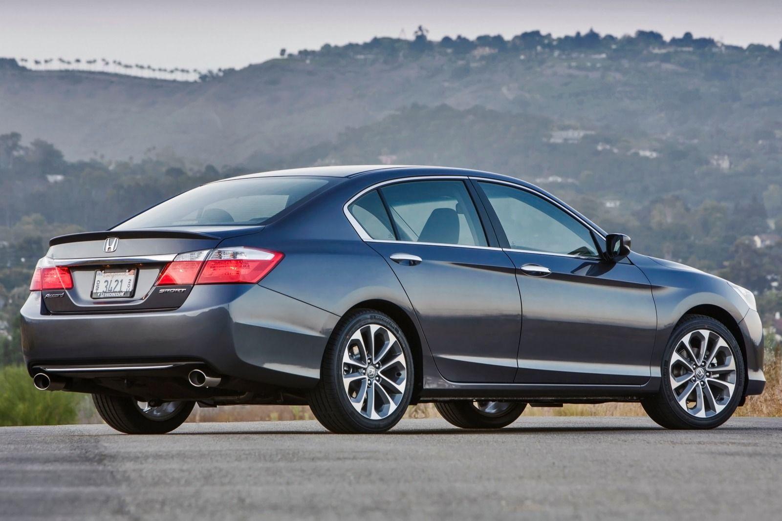 2015 Honda Accord Wide HD Wallpaper (Dengan gambar