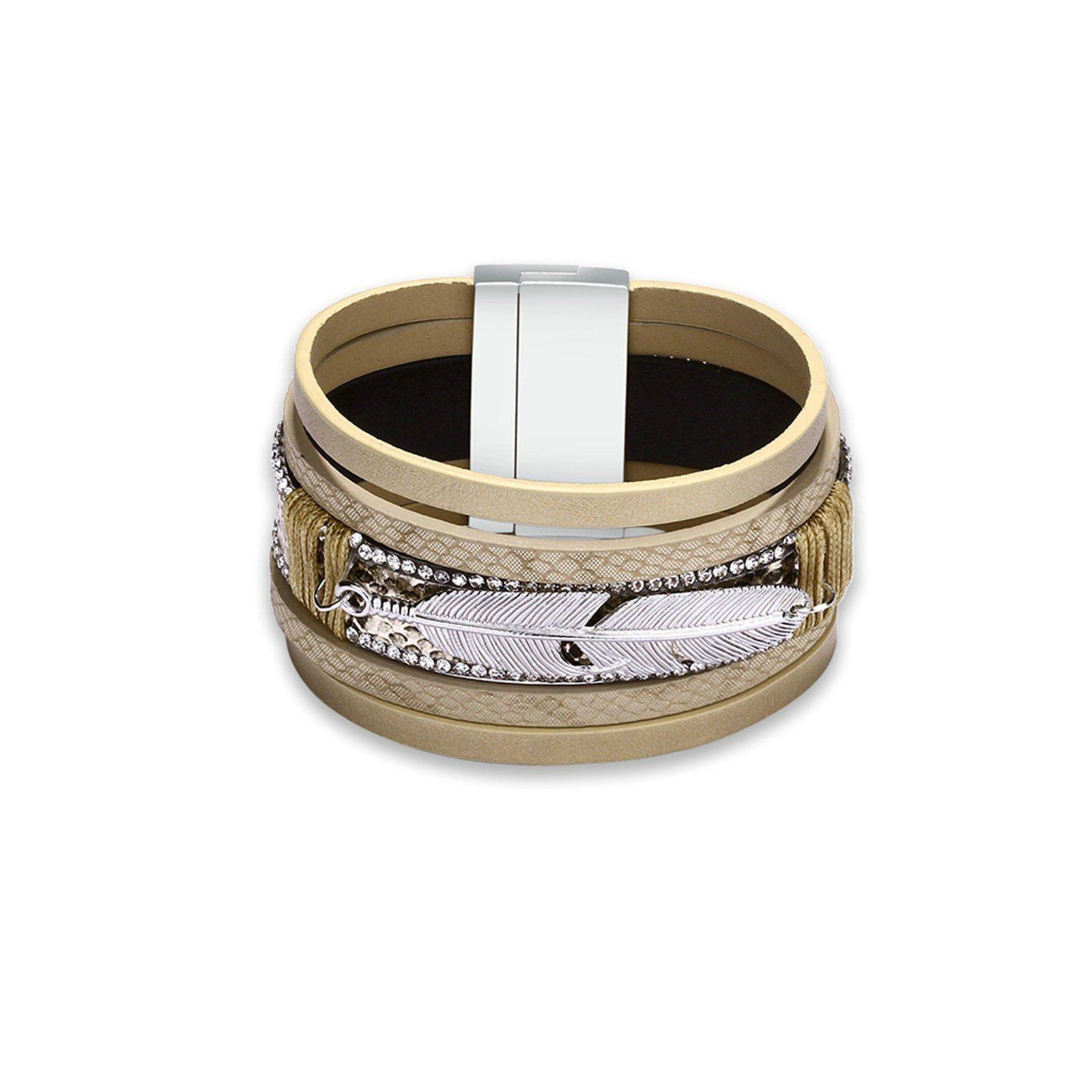 Epinki Stainless Steel Bracelet Mens Square Bracelet Black Silver