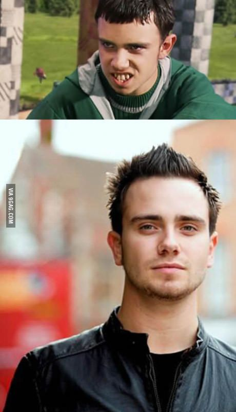Slytherin Quidditch Captain Marcus Flint Then And Now Harry Potter Actors Harry Potter Characters Second Harry Potter Movie