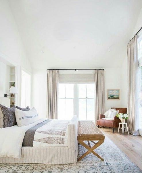 Photo of Home Decor Recibidor Guest bedroom curtain color.Home Decor Recibidor  Guest bed…