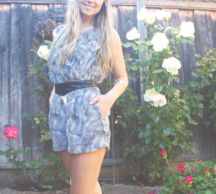 Romper with Bangle