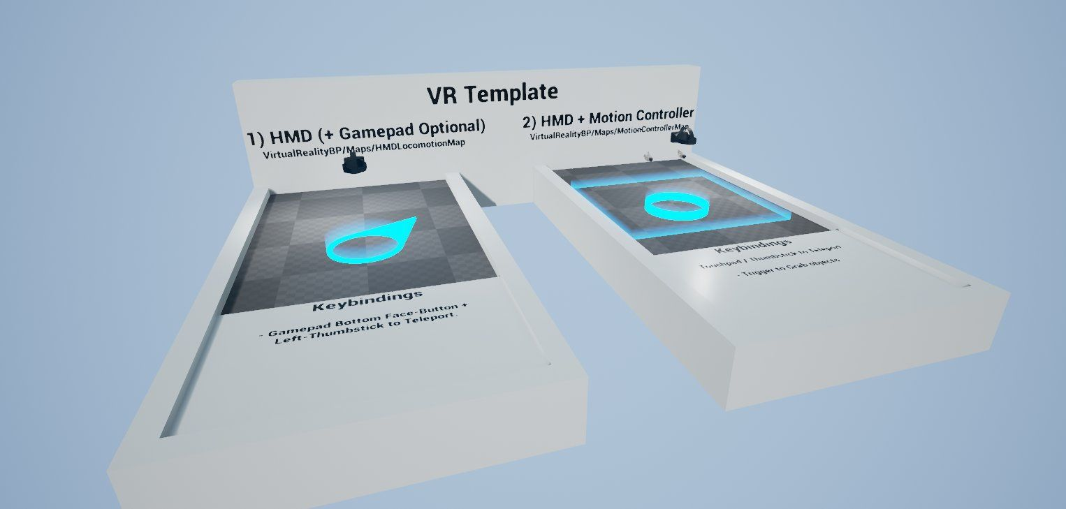 Unreal engine 413 introduces the official virtual reality template unreal engine 413 introduces the official virtual reality template made entirely in blueprint the template further simplifies getting started with vr in malvernweather Gallery