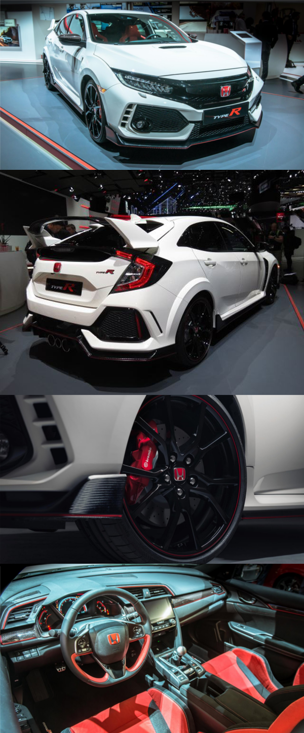 Honda Civic Type R - Fifth generation with 316 horsepower