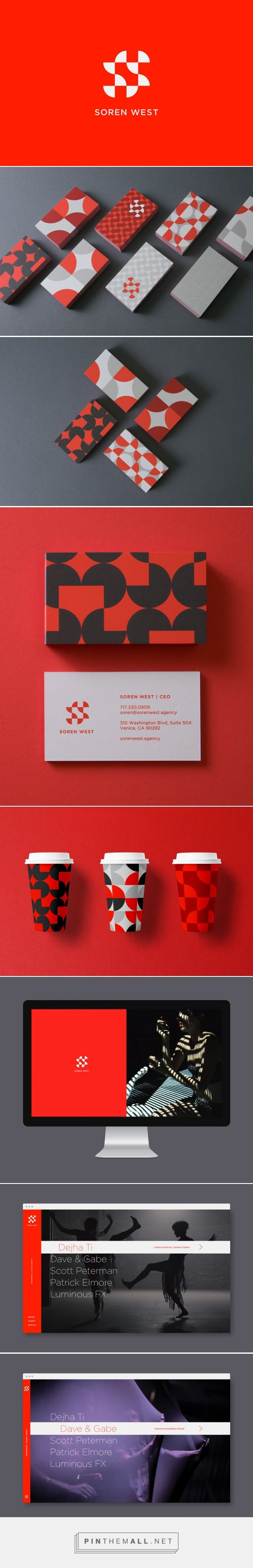 Soren West On Behance Created Via Https Pinthemall Net With Images Cosmetic Packaging Design Logo Inspiration Branding Visual Branding