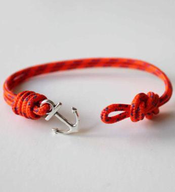 Knots N Anchor Bungee Bracelet
