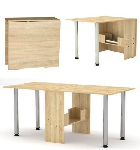 Details Zu Klapptisch Esstisch Klappbar Funktions Buro Tisch