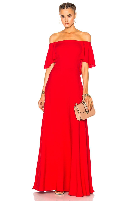 VALENTINO Off Shoulder Gown. #valentino #cloth #