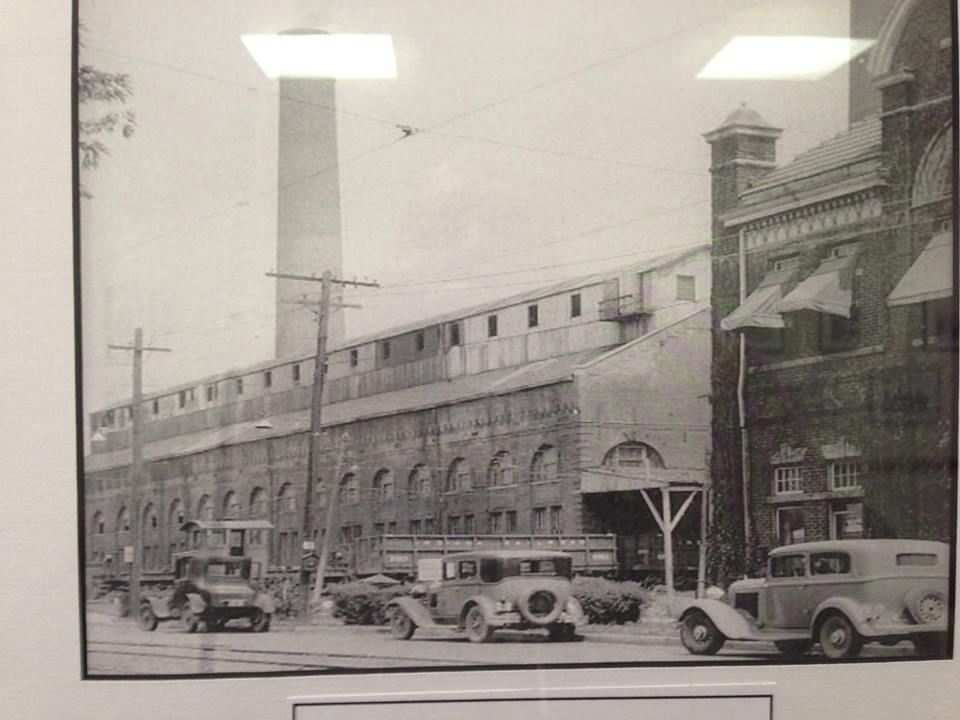 The Power Station For The Interurban Line The Building At The
