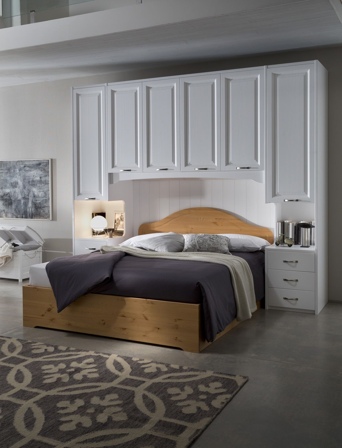 Mobili Pino » ARMADIO A PONTE IN PINO | Bedroom ideas | Pinterest ...