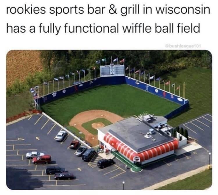 Pin By Brian Andreas On Baseball In 2020 Sports Bar Baseball Field Wiffle Ball