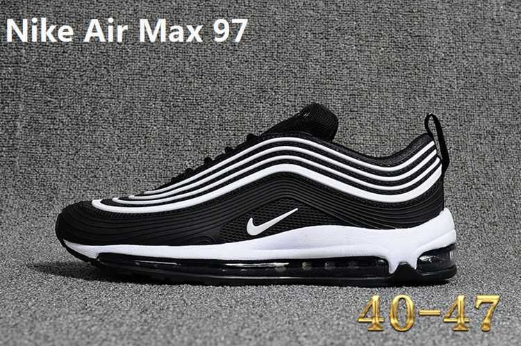 Nike 97 Kpu Max 97 Kpu New Men Black White 40 47 Nike Air Max 97 Cheap Nike Air Max Nike Air Max